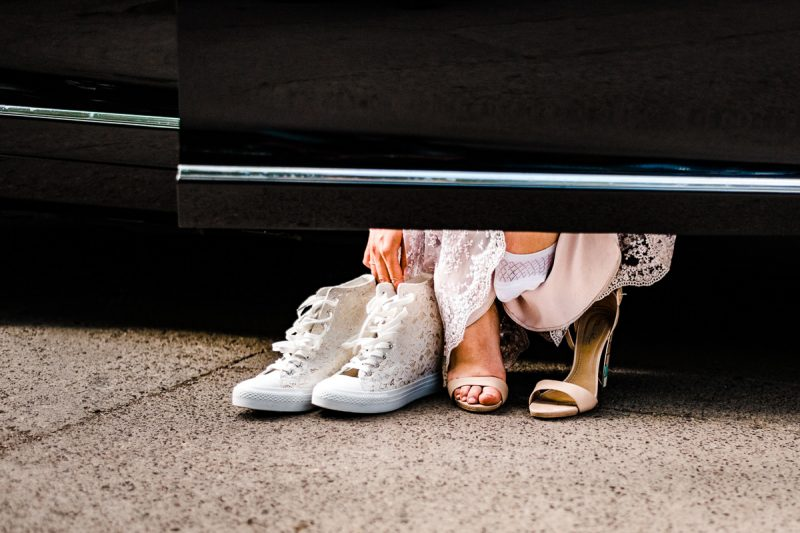 Рокля и обувки